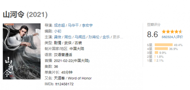 Zhang Zhehan scrapped from poster of Word of Honor as one of the blacklisted celebrities